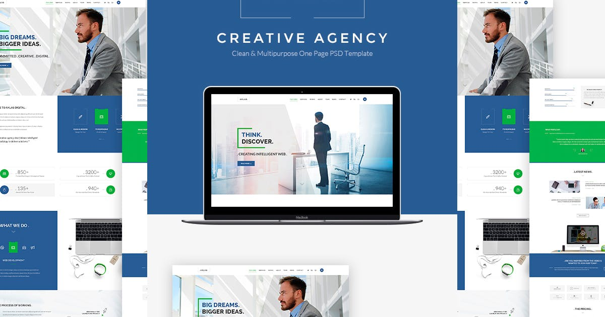 Download Aklas - Business Creative HTML by Templines