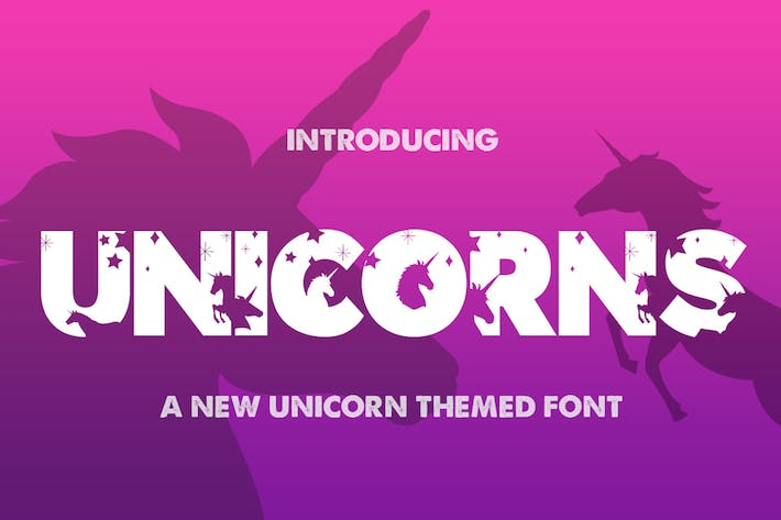Thumbnail for The Unicorns Font