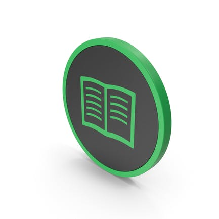 Icon Book Green