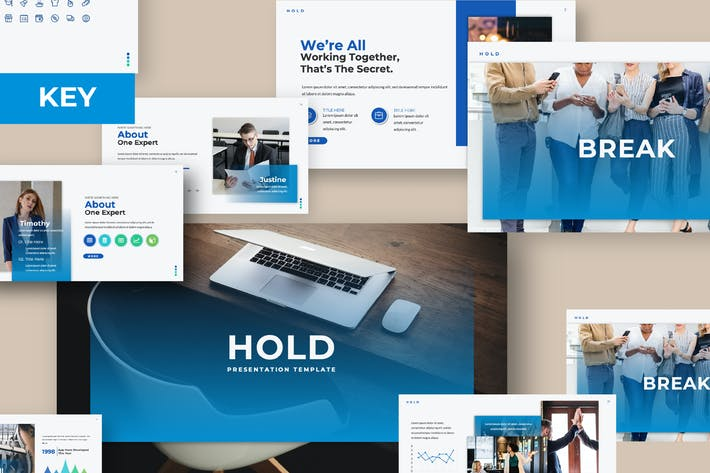 Thumbnail for Hold Keynote Template