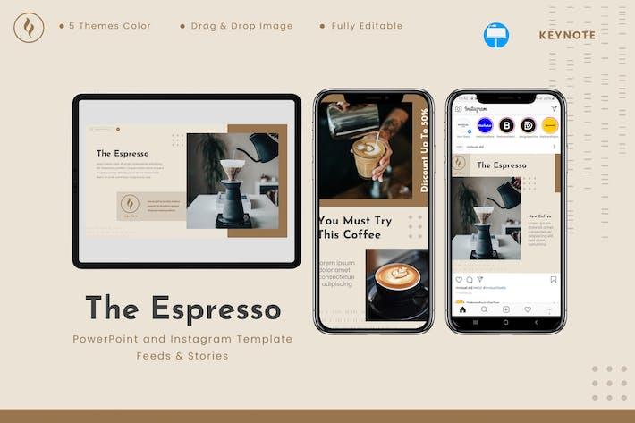 The Espresso - Keynote & Instagram Template
