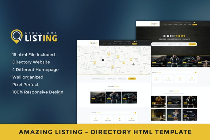 Thumbnail for Listing - Directory Multipurpose HTML Template