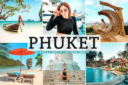 Phuket Mobile & Desktop Lightroom Presets