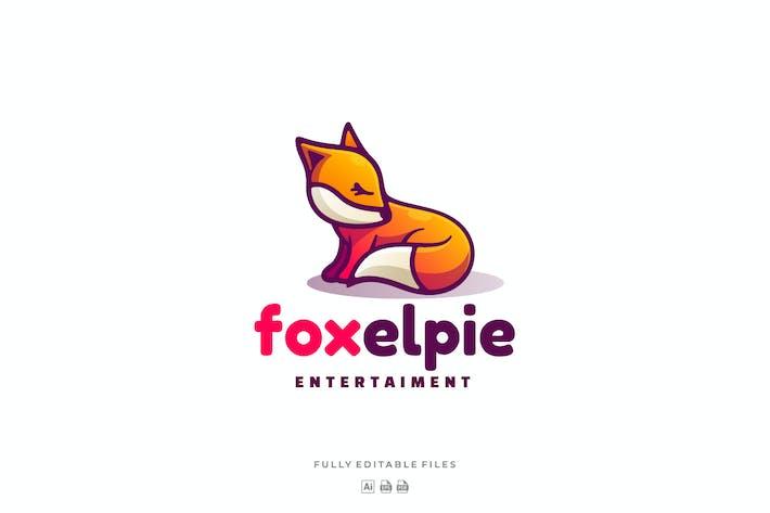 Thumbnail for Cute Fox Mascot Cartoon Logo