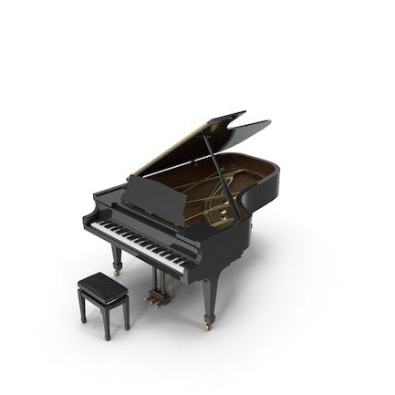 Concert Piano & Bench