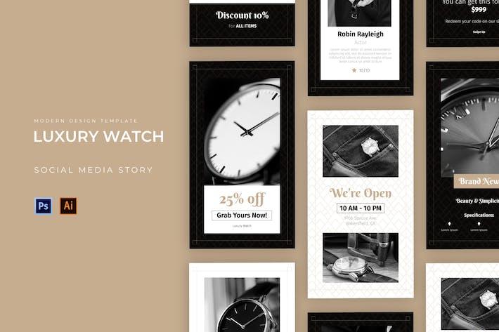 Luxus Uhr Instagram Story