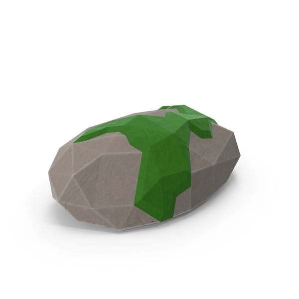 Thumbnail for Baja Poli Mossy Rock
