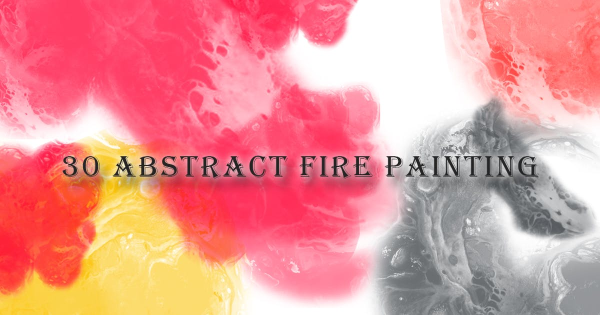 Download 30 Abstract Fire Painting Brushes by gblack-id