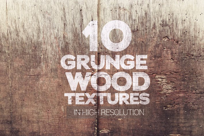 Thumbnail for Grunge Wood Textures x10
