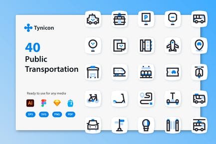 Tynicon - Icons für öffentliche Verkehrsmittel