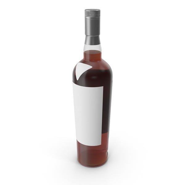 Scotch Bottle Mockup