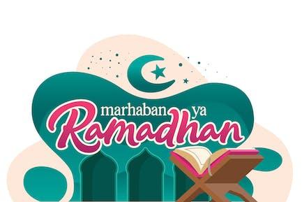 Ramadhan Vector