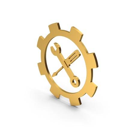 Symbol Tools Gold