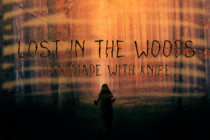 Thumbnail for Lost in the woods