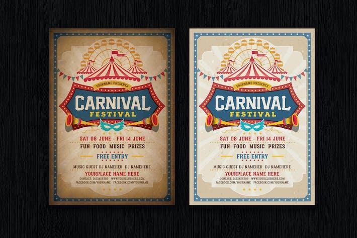 Thumbnail for Funfair & Carnival Flyer