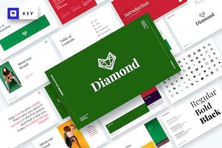 Diamond - Brand Guidelines Keynote Template