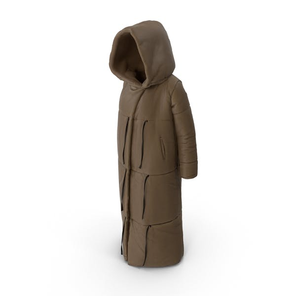 Thumbnail for Women's Down Jacket Brown