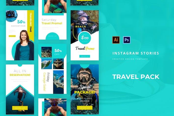 Thumbnail for Travel Pack Instagram Story