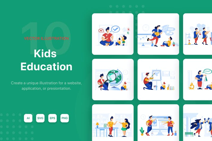 Kids Education Pack