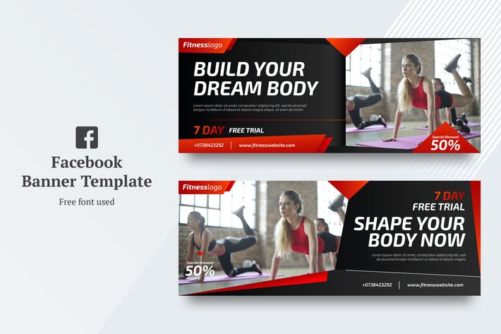 Thumbnail for AWR Fitness Facebook Cover