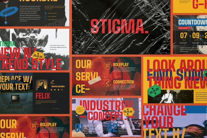 STIGMA - Creative Agency Powerpoint Corporate