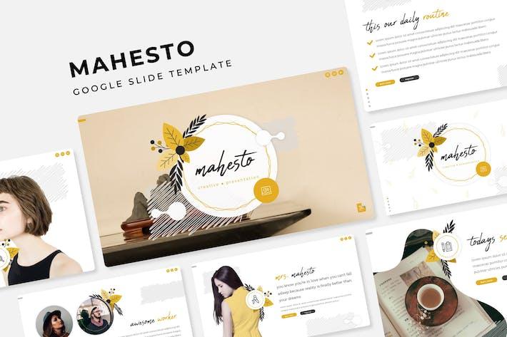 Thumbnail for Mahesto - Google Slide Template