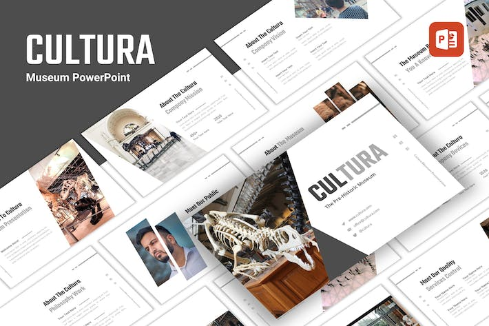 Thumbnail for Cultura - Museum PowerPoint Template
