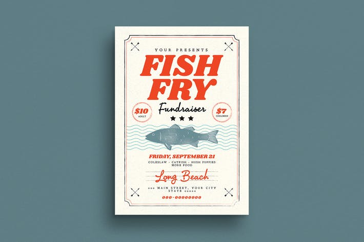 Thumbnail for Fish Fry Flyer