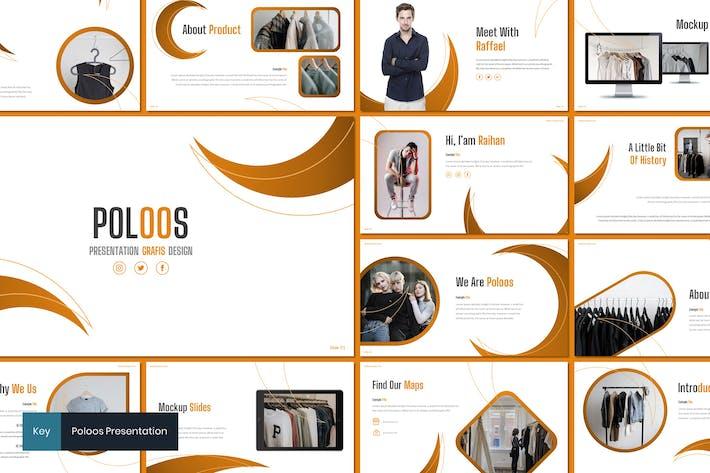 Thumbnail for Poloos - Fashion Keynote Template