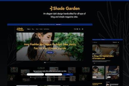 Shade Garden Blog - Kreative Blog WordPress Thema