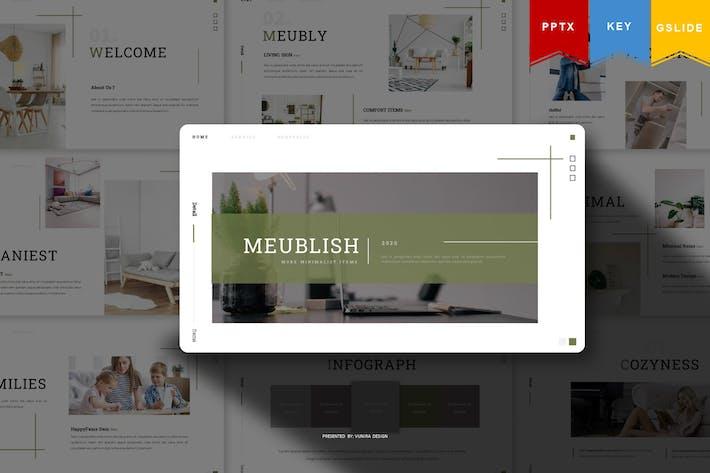 Thumbnail for Meublish   Presentation Template