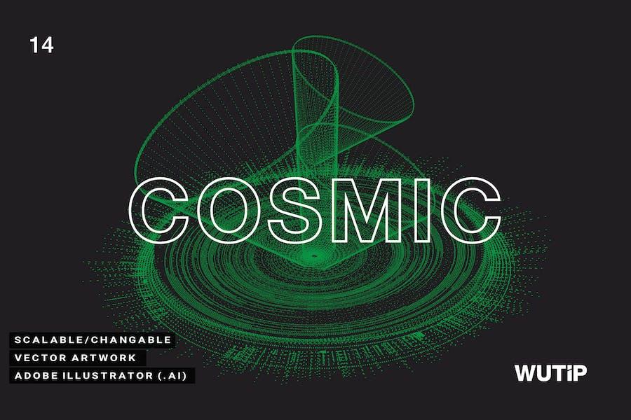 Vector Cosmic 14
