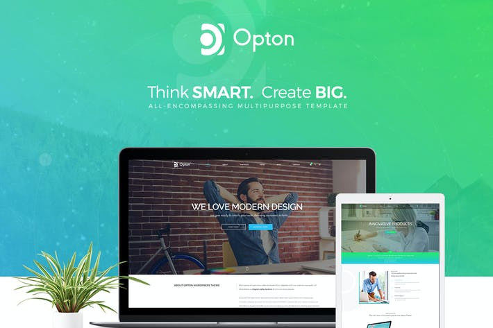 Thumbnail for Opton - Multi-Purpose HTML5 Template