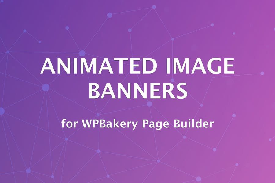 Animated Image Banners for WPBakery Page Builder - product preview 0