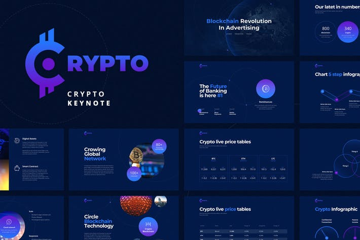 Cover Image For CRYPTO Keynote Template
