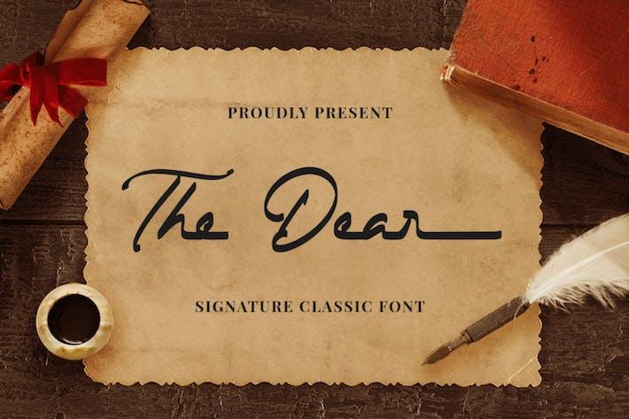 The Dear - Signature Classic