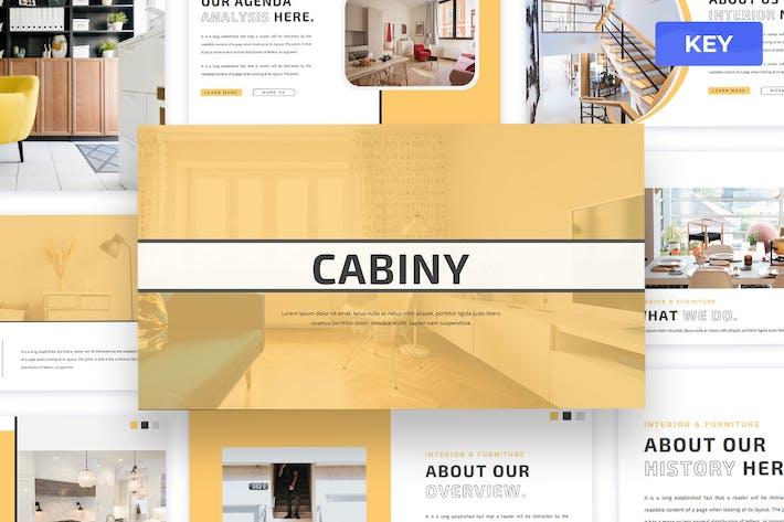 Cabiny - Keynote Presentation Template