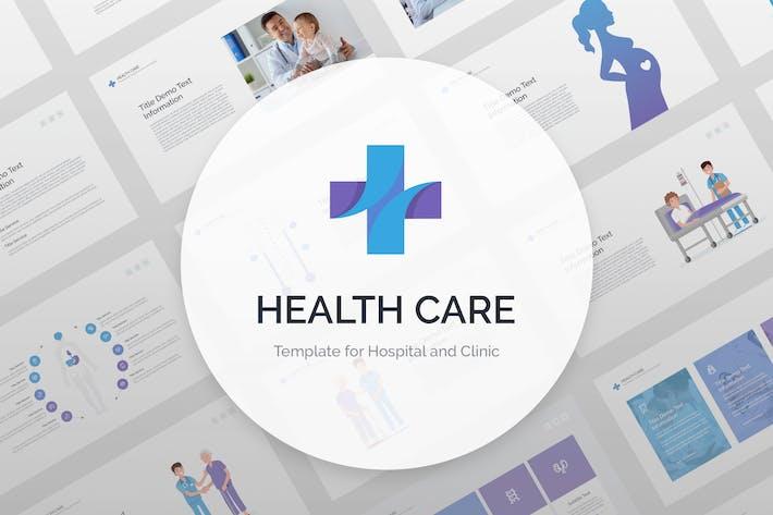 Thumbnail for Health Care Google Slides