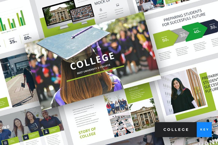 Thumbnail for College - University Keynote Template