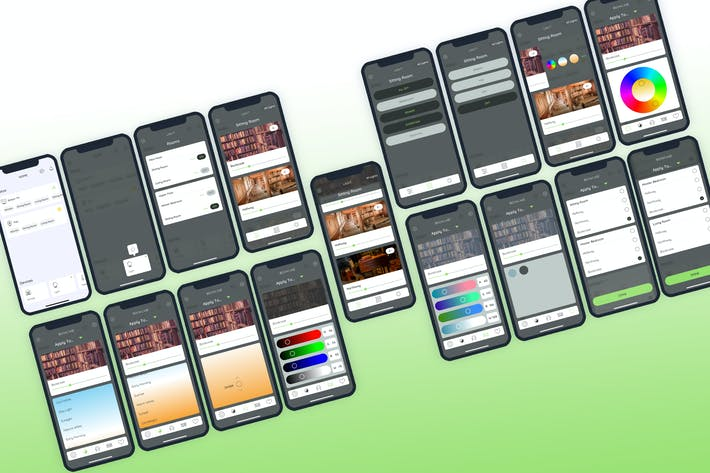 Light Smarthome Mobile UI - FP