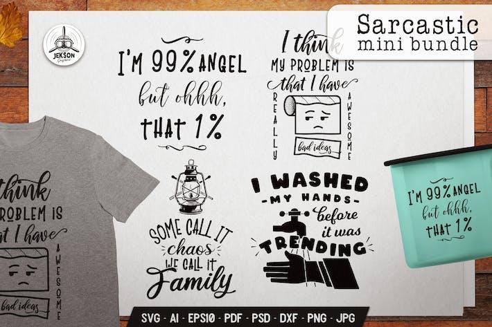Thumbnail for Designs Vecteur sarcastiques - Objets Silhouette