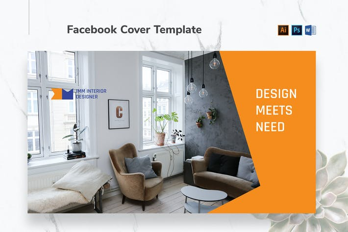 Thumbnail for Interior Designer Firm Facebook Cover