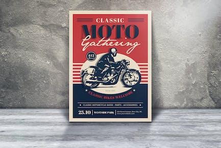 Dépliants classiques Moto Gathering