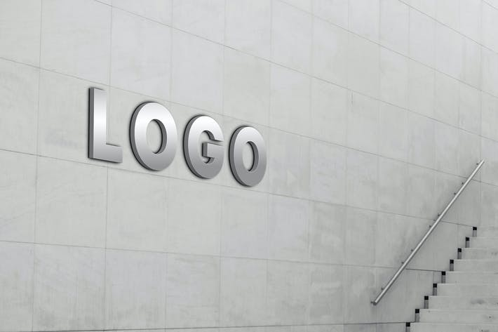 Thumbnail for Wall Logo Mock Up