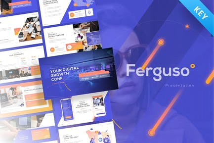 Ferguso - Creative Keynote Template