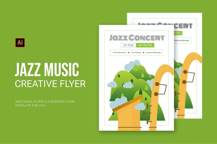 Thumbnail for Jazz Music - Flyer