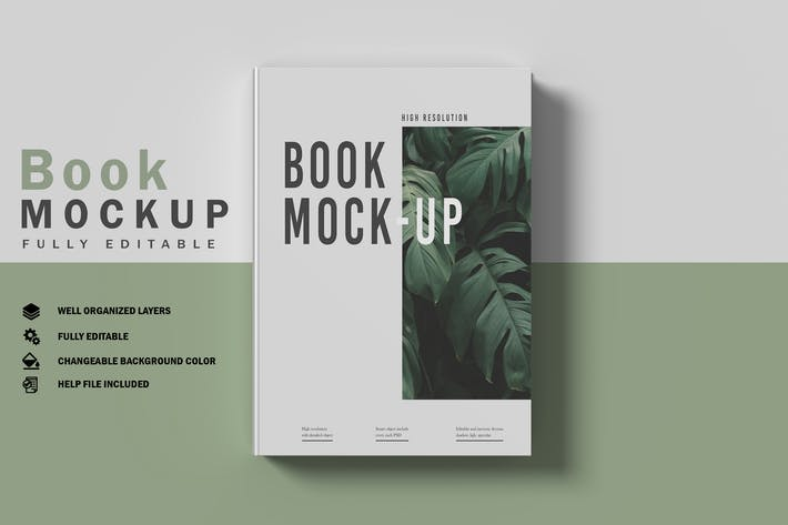 Thumbnail for Book Mockup V.1