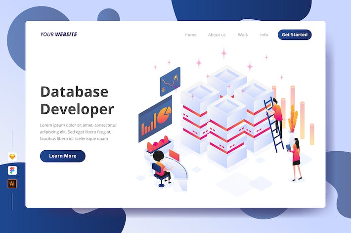 Thumbnail for Database Developer - Landing Page