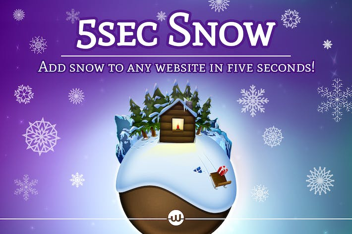 Thumbnail for 5sec Snow - Christmas Joy Generator
