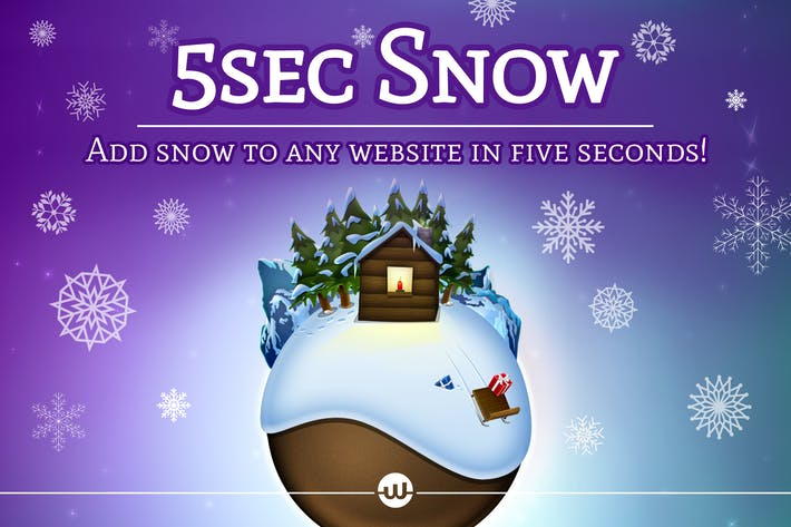 Cover Image For 5sec Snow - Christmas Joy Generator